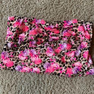 Medium Pink Victoria secret lace bandeau